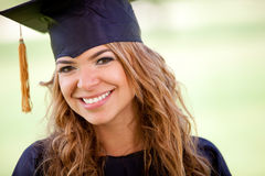 Gradutation student Stock Photography