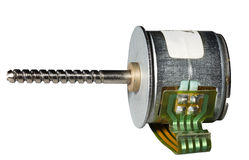 gradvis motor Arkivbild