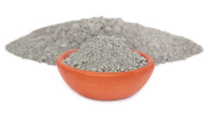Grady cement powder Stock Image