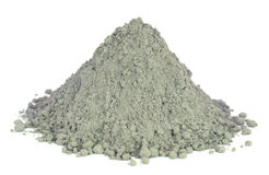Grady cement powder Royalty Free Stock Photography