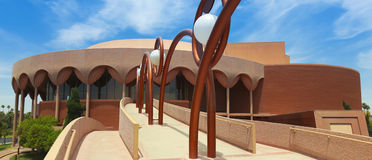 Grady Gammage Memorial Auditorium Shot, Tempe Fotografie Stock