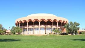Frank Lloyd Wright: Gammage salong, Tempe, AZ Royaltyfri Bild