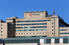 Grady Memorial Hospital Stock Photo