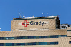 Grady Memorial Hospital Stock Images