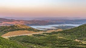 Gradzina rekreacyjny teren w Jordanelle stanu parku obrazy stock