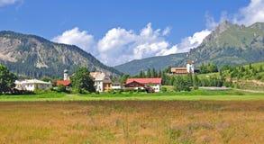 Graen, Tannheimer Tal, Tirol, Austria Fotografie Stock