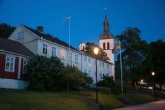Graenna Kyrkan Church, Joenkoeping, Sweden Stock Photos