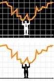 graf Arkivfoto