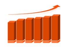 graf 3d Royaltyfri Fotografi