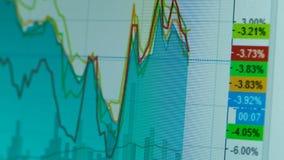 Graf av internet som handlar crypto valuta stock video