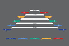 Graf av utveckling Fotografering för Bildbyråer