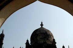 Graf en de moskee Ibrahim Rauza in de stad van Bidzhapur in India Royalty-vrije Stock Fotografie
