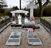 Graf en Gedenkteken van Sargent Alvin C york stock foto