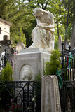Graf van Frederic Chopin, begraafplaats Pere Lachaise, Parijs Stock Foto's