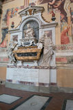 Graf van Galileo Galilei royalty-vrije stock afbeelding
