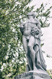 Graf van Henry Edmund Holland, de Straat Memorial Park, Nieuw Zeeland van Bolton stock afbeeldingen
