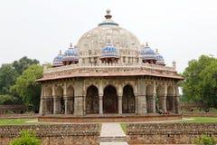 Graf van Isa Khan Niazi, Delhi, India royalty-vrije stock fotografie