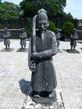 Graf van Keizer Khai Dinh, Tint, Vietnam stock afbeeldingen