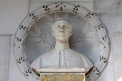 Graf van Kroatische historicus, politicus en schrijver Dr Franjo Racki op Mirogoj-begraafplaats in Zagreb stock foto's