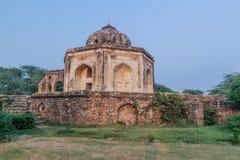 Graf van Quli Khan in Mehrauli-district van Delhi, Ind. stock foto's