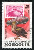 Graf Zeppelin y águila de mar imagenes de archivo