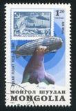 Graf Zeppelin y sello fotos de archivo