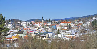 Grafenau,Bavarian Forest,Bavaria,Germany Royalty Free Stock Image