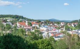 Grafenau nella foresta bavarese Immagini Stock
