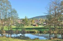 Grafenwiesen,bavarian Forest,Bavaria,Germany Stock Image
