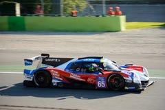 Graff, das Ligier-Sport-Prototyp in der Aktion läuft Lizenzfreies Stockfoto