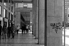 Graffii fotografia stock