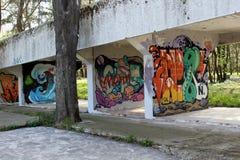 Graffit4 免版税库存图片