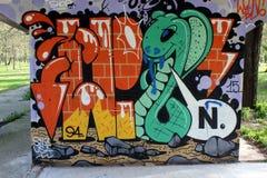 Graffit44 免版税图库摄影