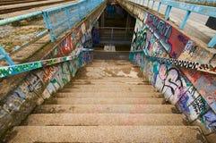 Graffit na ulicie Obrazy Stock