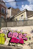 Graffiti à Lisbonne Photo stock