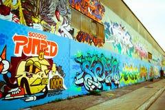 Graffiti à Montréal photos stock