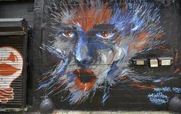 Graffiti à New York City Images libres de droits