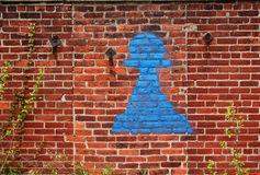 graffiti ścianę Obraz Stock
