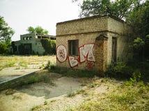 36-Graffiti Fotos de Stock Royalty Free