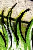 Graffiti. Close up shot of a graffito Stock Photography