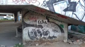 graffiti royalty-vrije stock fotografie