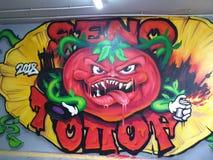 graffiti royalty-vrije stock foto's