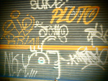 Graffiti stockbilder