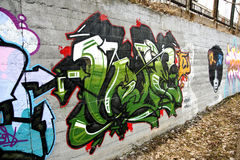 Graffiti Lizenzfreie Stockfotos