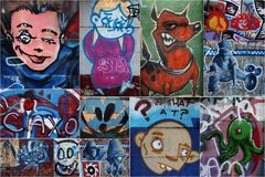 Graffiti Photo stock