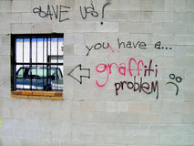Graffiti Photographie stock libre de droits