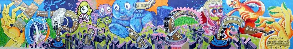 Graffiti obrazy stock