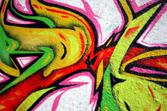 graffiti fotografia stock