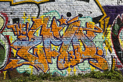 Graffiti So 36 Stock Photo