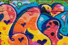 graffiti Stockbild